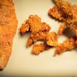 La trilogia del pollo impanato