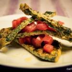 Frittata con foglie di ravanelli