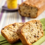 Plum Cake integrale speziato con nocciole, noci e uvetta