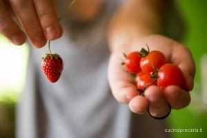 Ciao siamo i frutti dell'orto :-)