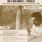 Ma il mio amore è Fenoglio, il 21 luglio vi aspetto a Mango, nei luoghi del Moscato d'Asti DOCG