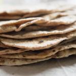 Pane senza lievito integrale o chapati