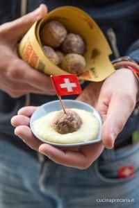 Subrich di patate con crema ai porri