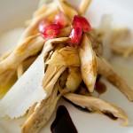 Insalata di Cappone, melograno e aceto balsamico