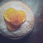Torta di carote, arancia e zenzero