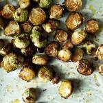 Cavoletti di Bruxelles al forno con erbe aromatiche